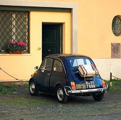 Een ronde door Italie met de fiat 500