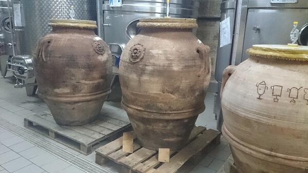 Guttarolo  terracotta amforen uit Impruneta