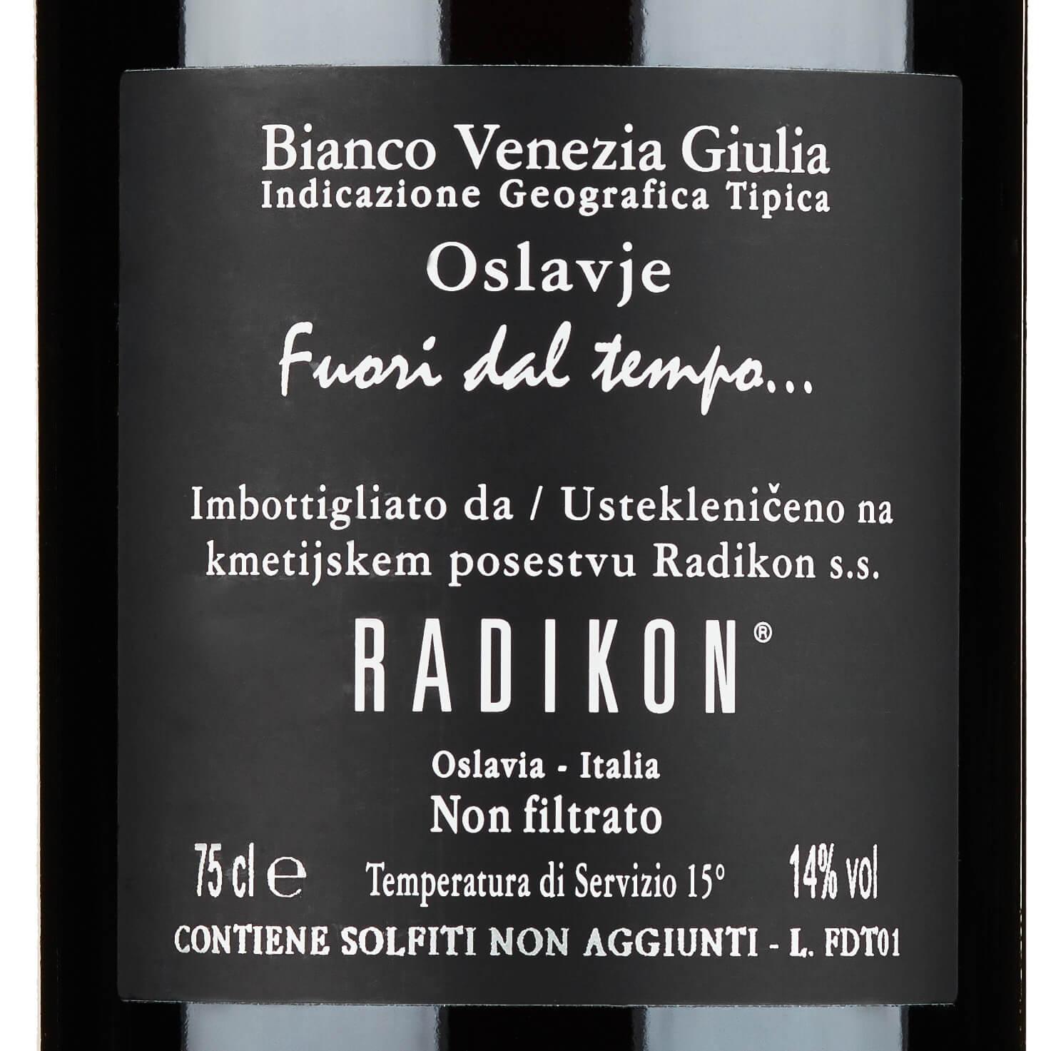 Radikon bevat sulfieten niet toegevoegd